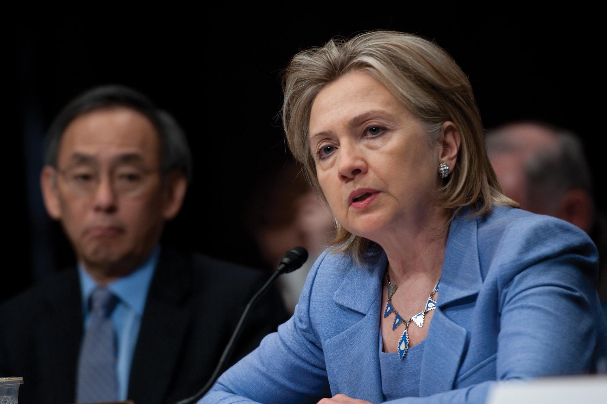 Photo of Secretary of State Hillary Clinton