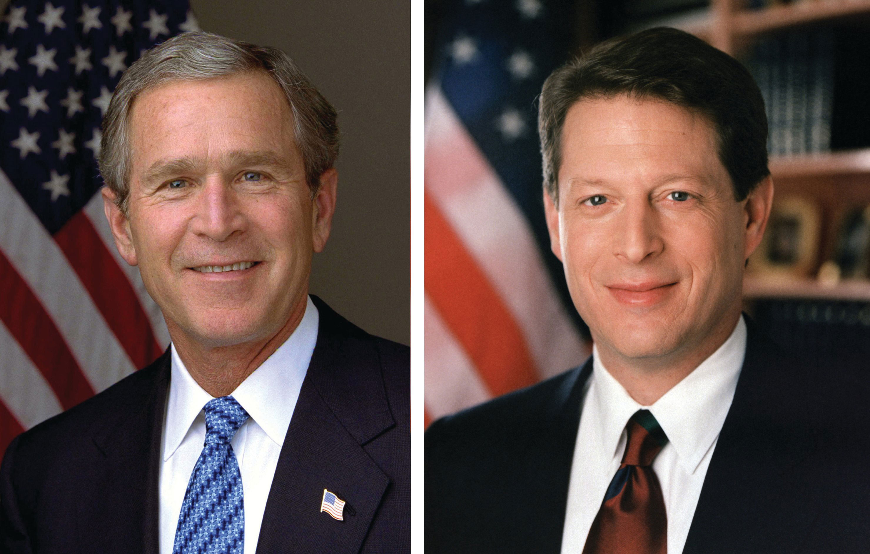 the close election campaign between al gore and george w bush in 2000 The presidential election that took place on november 7, 2000, was so close that no one knew for more than a month who had won the election of 2000: texas governor george w bush (r), or vice president al gore (d) nationally, bush had won 246 electoral votes gore had won 260.
