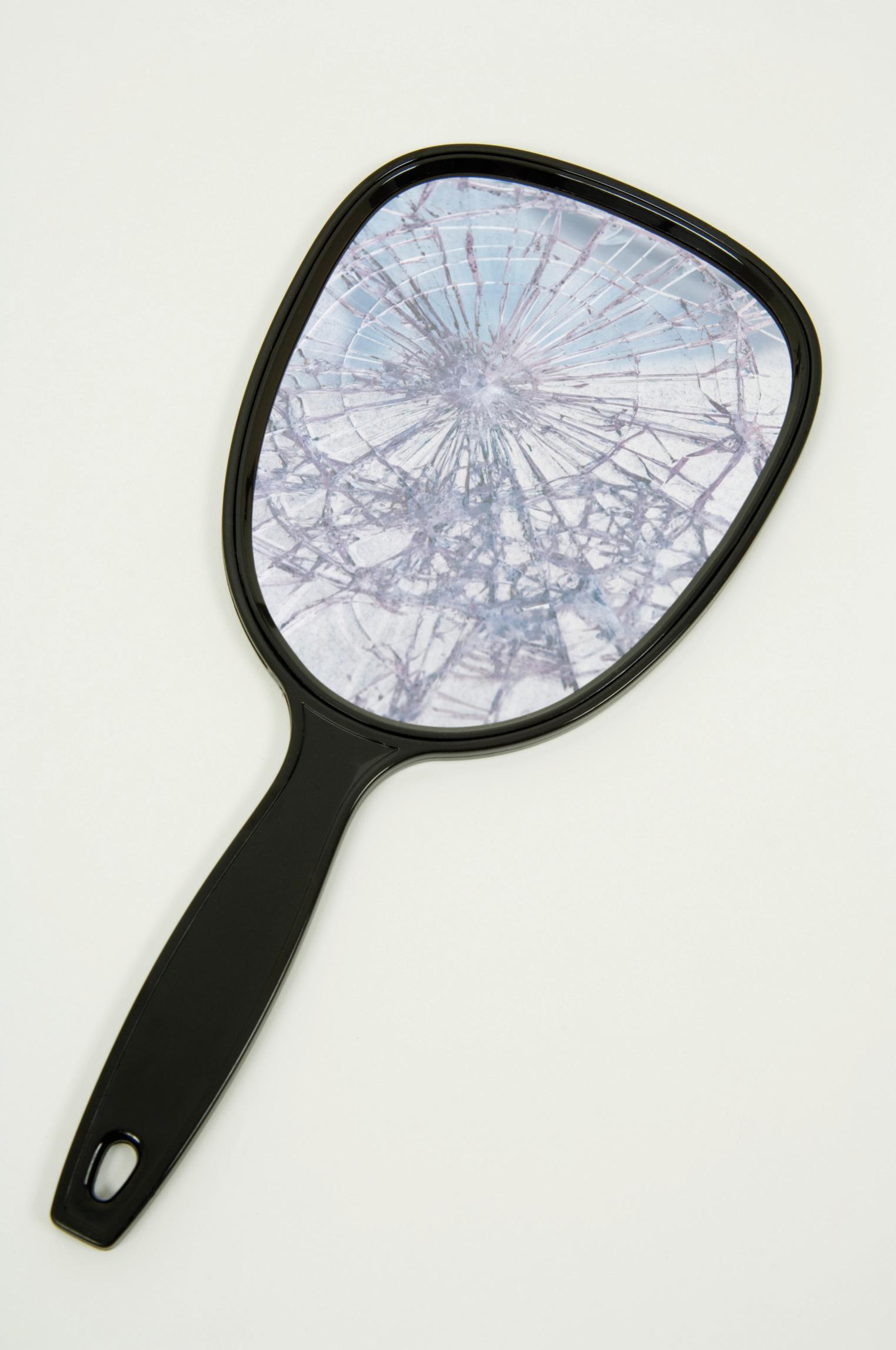 Broken Hand Mirror Clipart Images