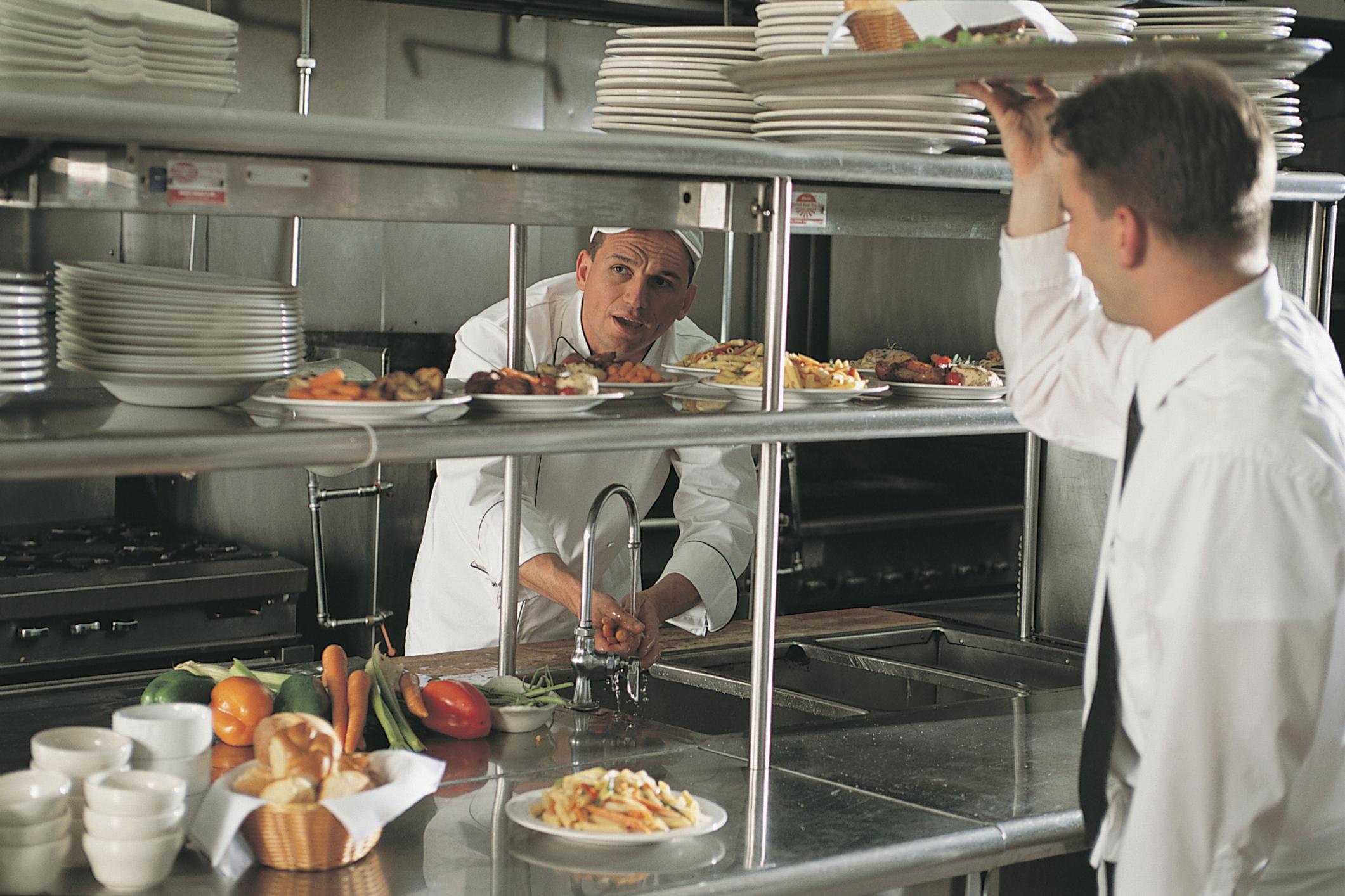 Roles In A Restaurant Kitchen