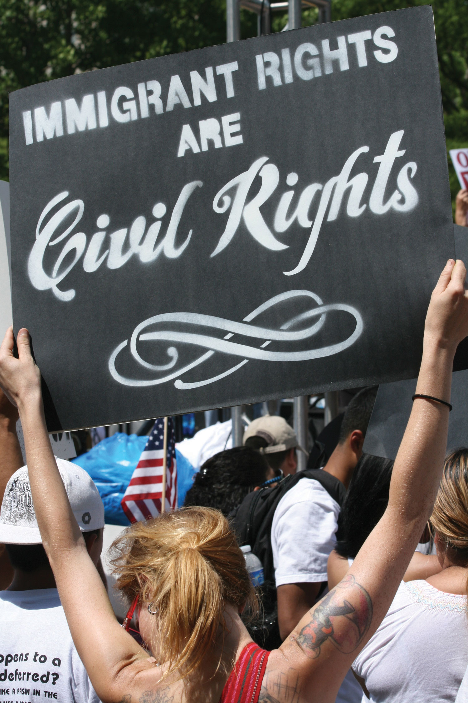 immigration laws should be more restrictive More teeth have also been put in to the previously rather weak laws on ethnic discrimination as yet, there are no indications that naturalization policy may become more restrictive.