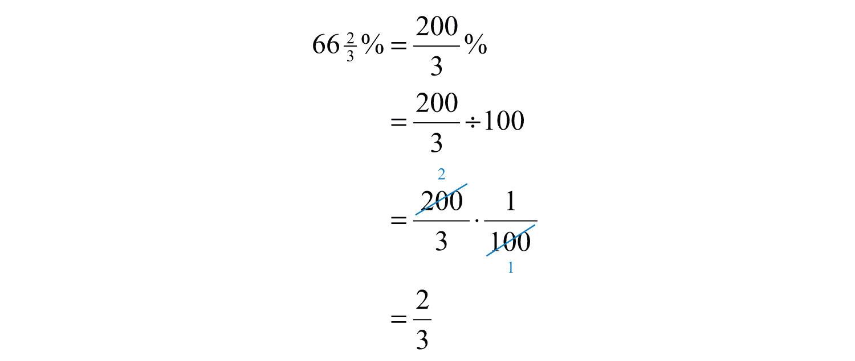 Decimals and Fractions to Percents