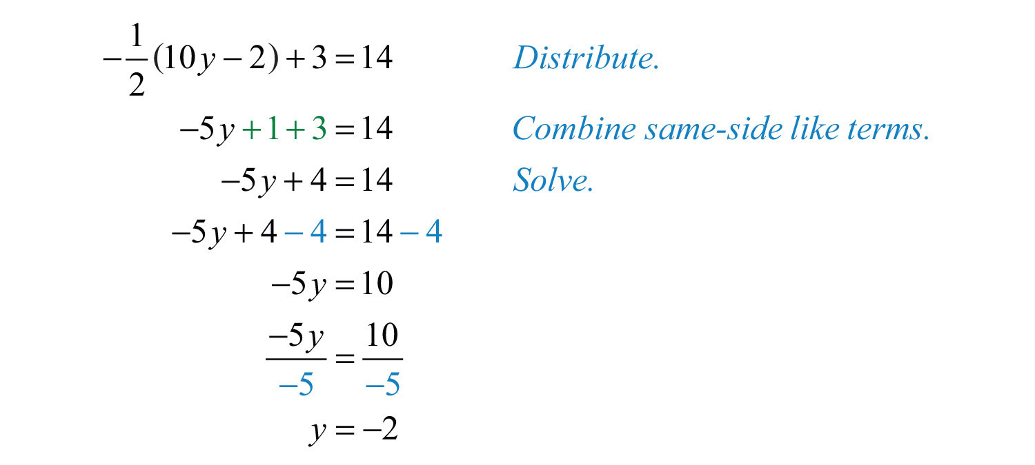 Solving Linear Equations: Part II