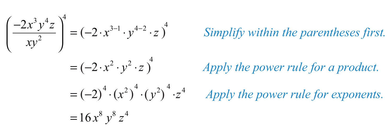Polynomials and their operations answer 16 x 8 y 8 z 4 falaconquin