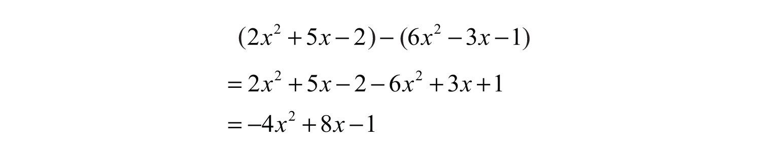 Polynomials And Their Operations