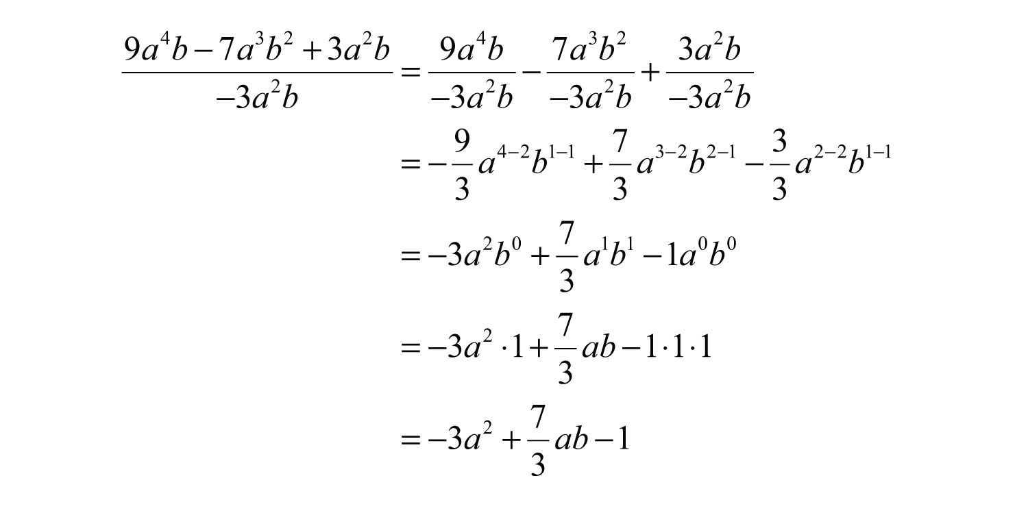 algebra divison how to work out