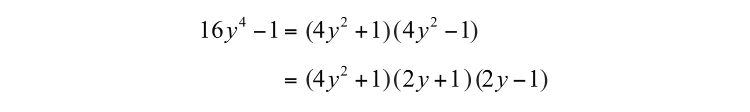 General Guidelines For Factoring Polynomials