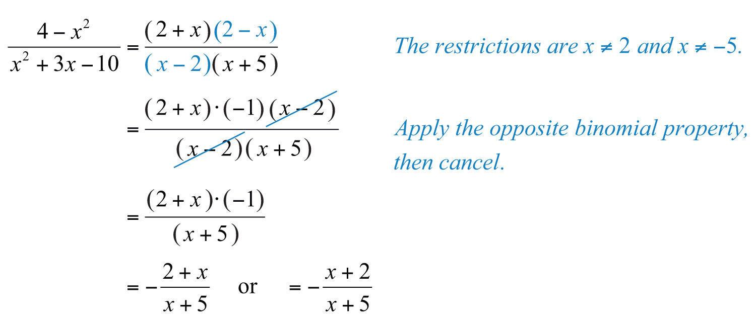 simplifying rational expressions - Rational Expressions Worksheet