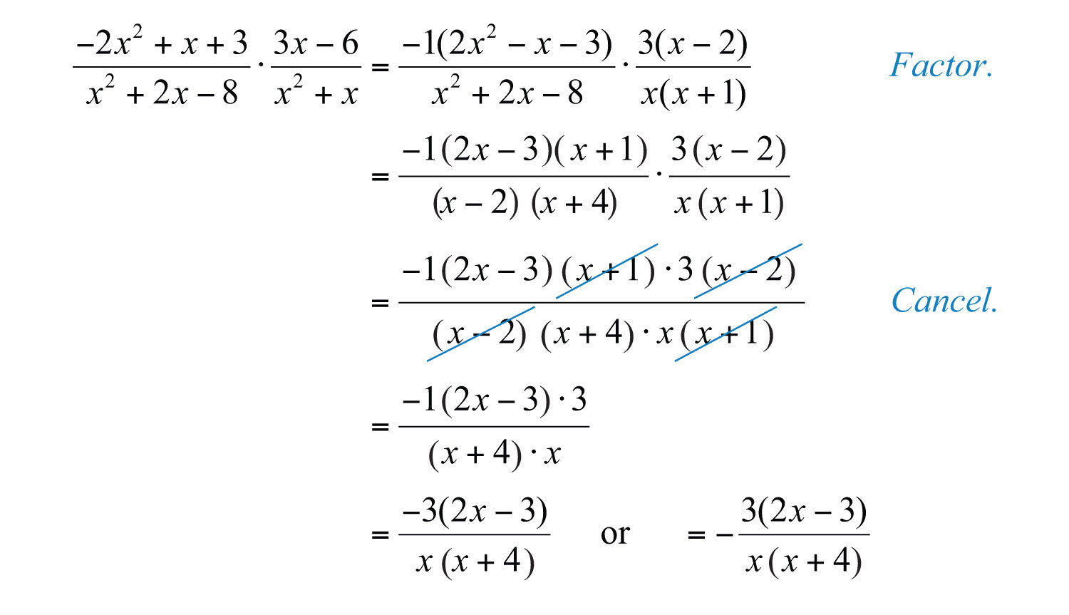 Multiplying and dividing rational expressions homework help – Multiplication of Algebraic Expressions Worksheets