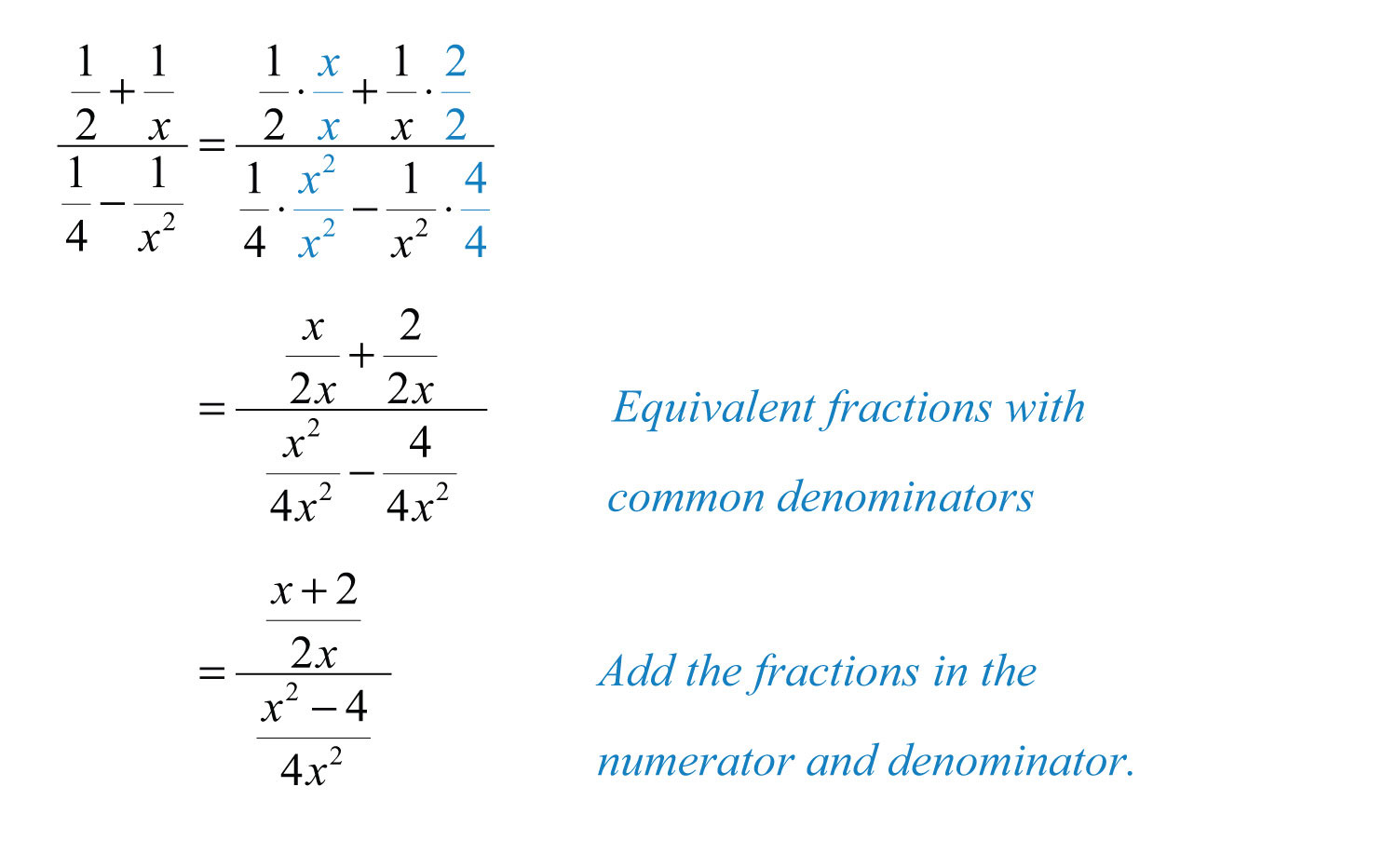 Complex Rational Expressions – Complex Fractions Worksheets