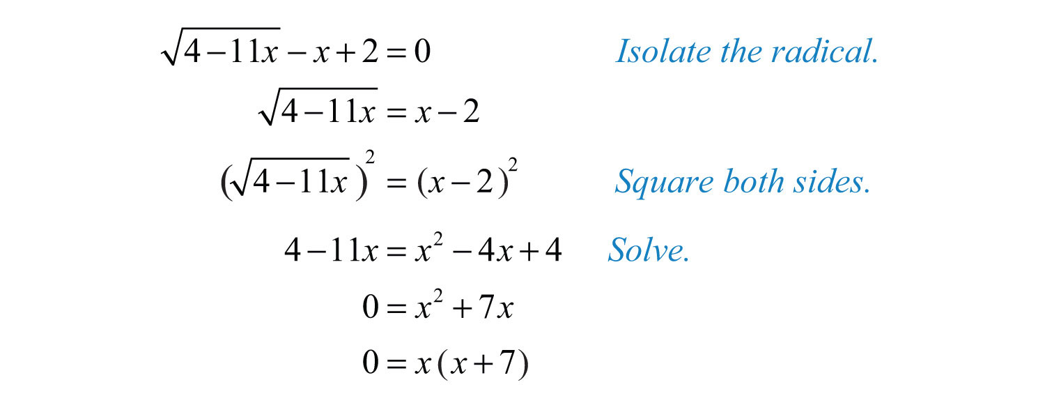 solving radical equations - Solving Radical Equations Worksheet