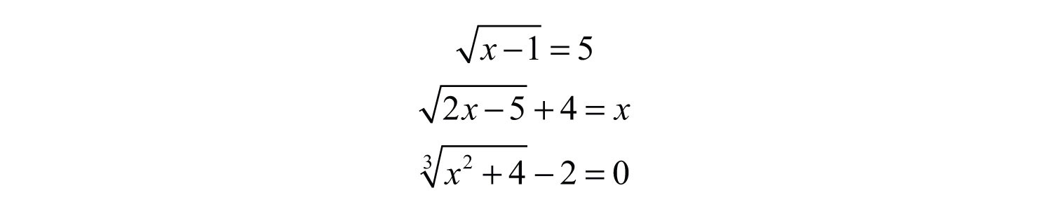 how to solve radical equations with two square roots