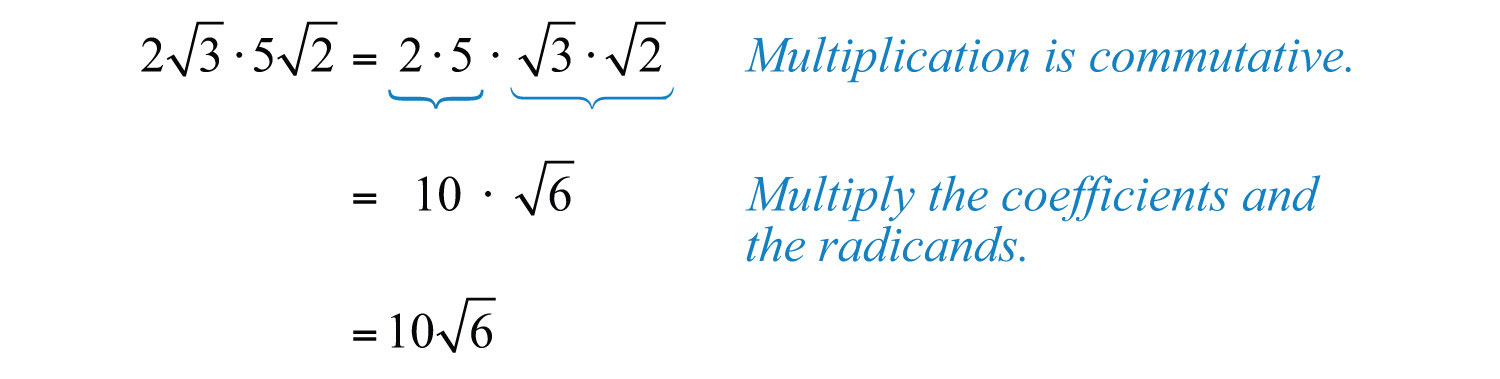 Radical Expressions and Equations – Multiplying and Dividing Radical Expressions Worksheet