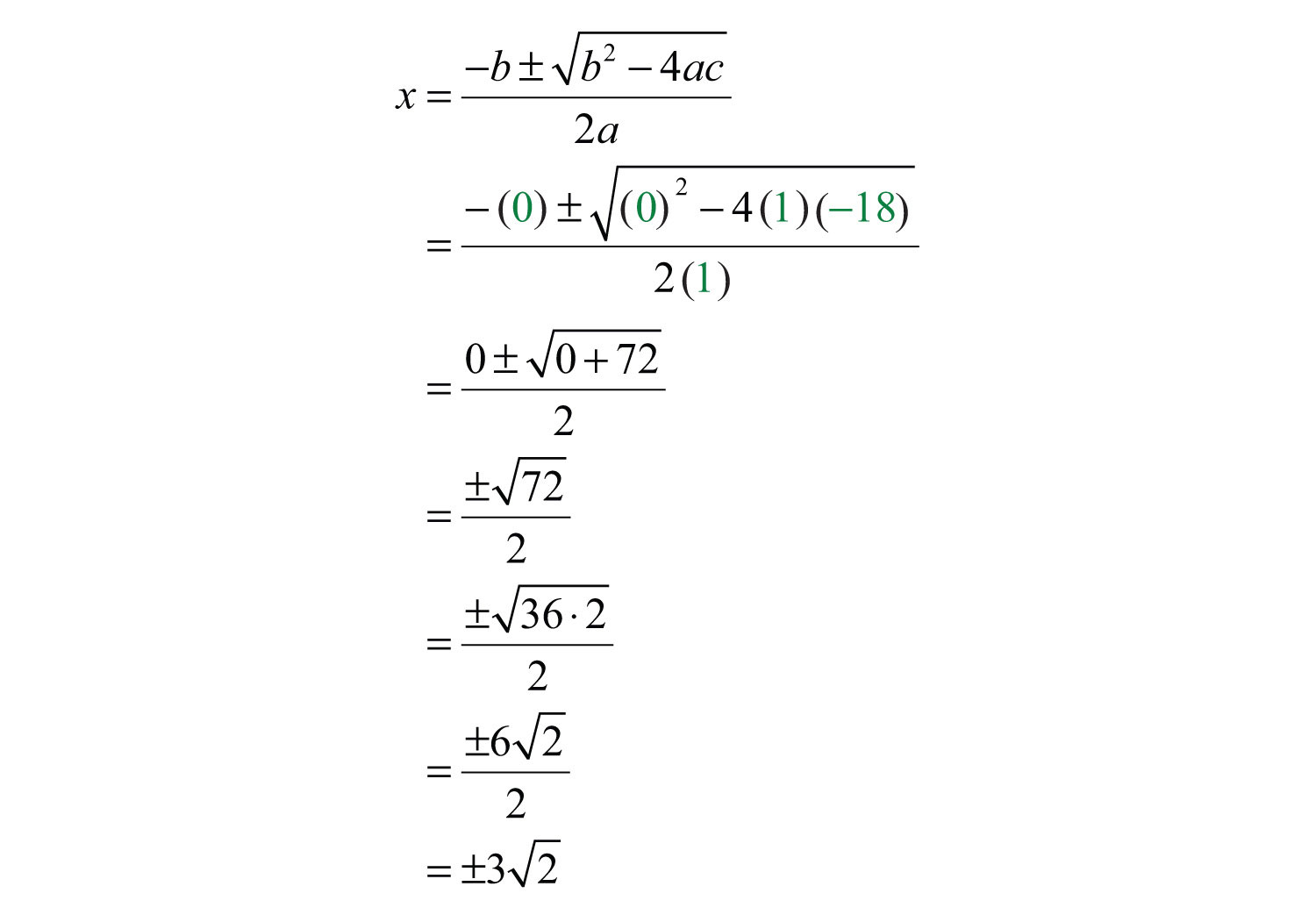 Free Worksheets the quadratic formula worksheet answers : Quadratic Formula