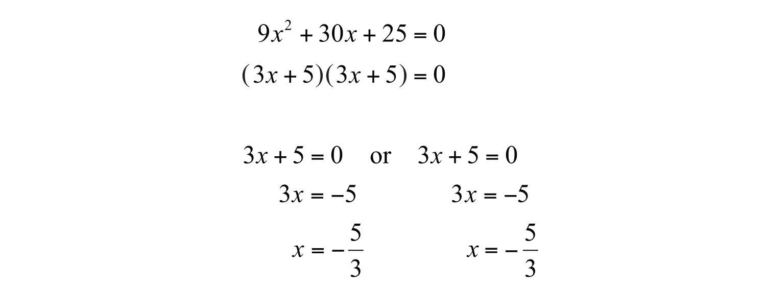Free Worksheets the quadratic formula worksheet answers : Guidelines for Solving Quadratic Equations and Applications