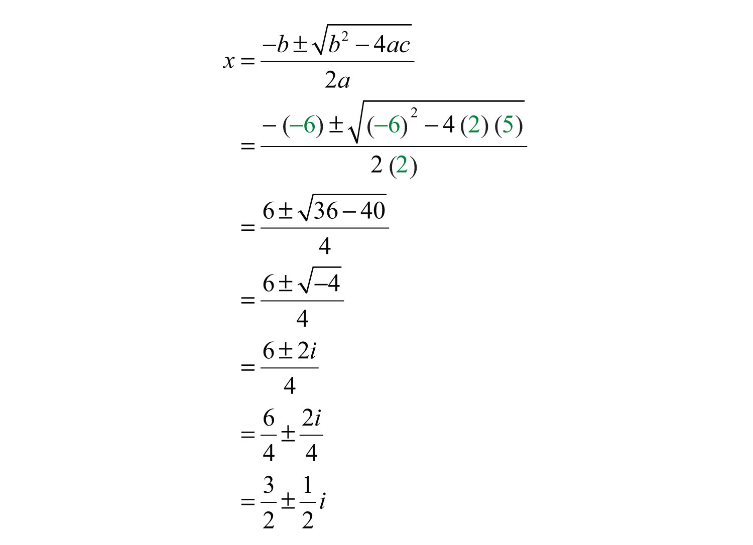 Introduction to Complex Numbers and Complex Solutions – Simplifying Imaginary Numbers Worksheet