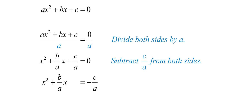 standard form quadratic expression  Solving Quadratic Equations and Graphing Parabolas