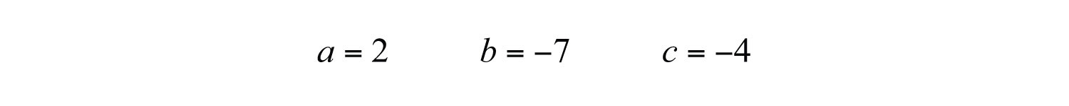 how to find the value of the discriminant
