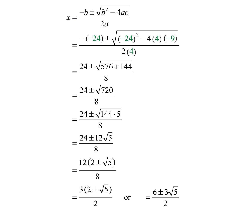 Solving Quadratic Equations and Graphing Parabolas  Solving Quadrat...
