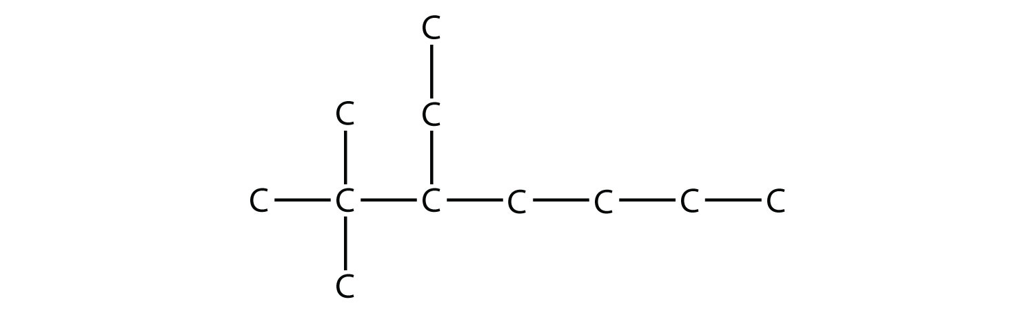 What is the condensed structural formula for 2 2