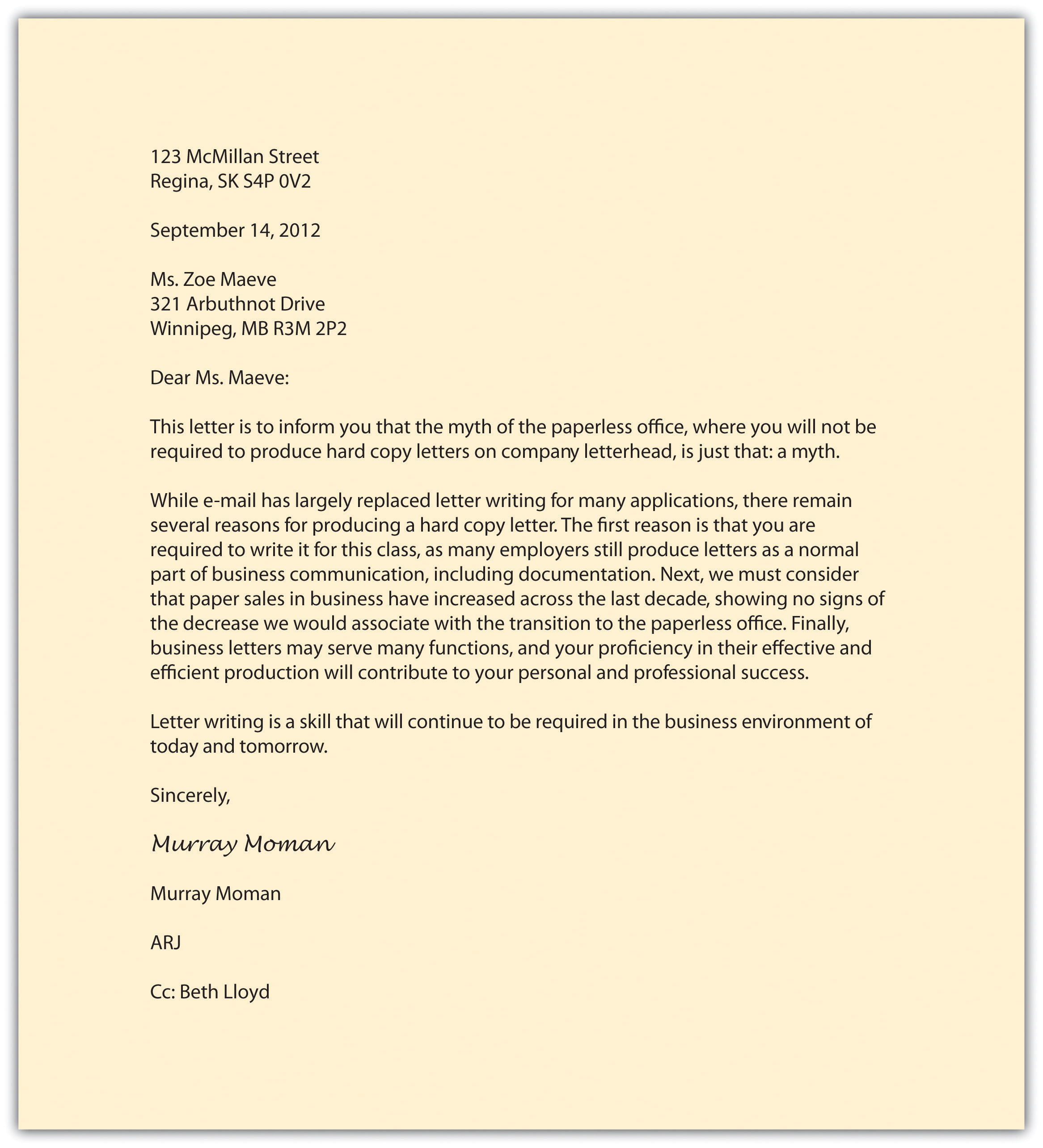 memorandums and letters business letter format sample dealer meet