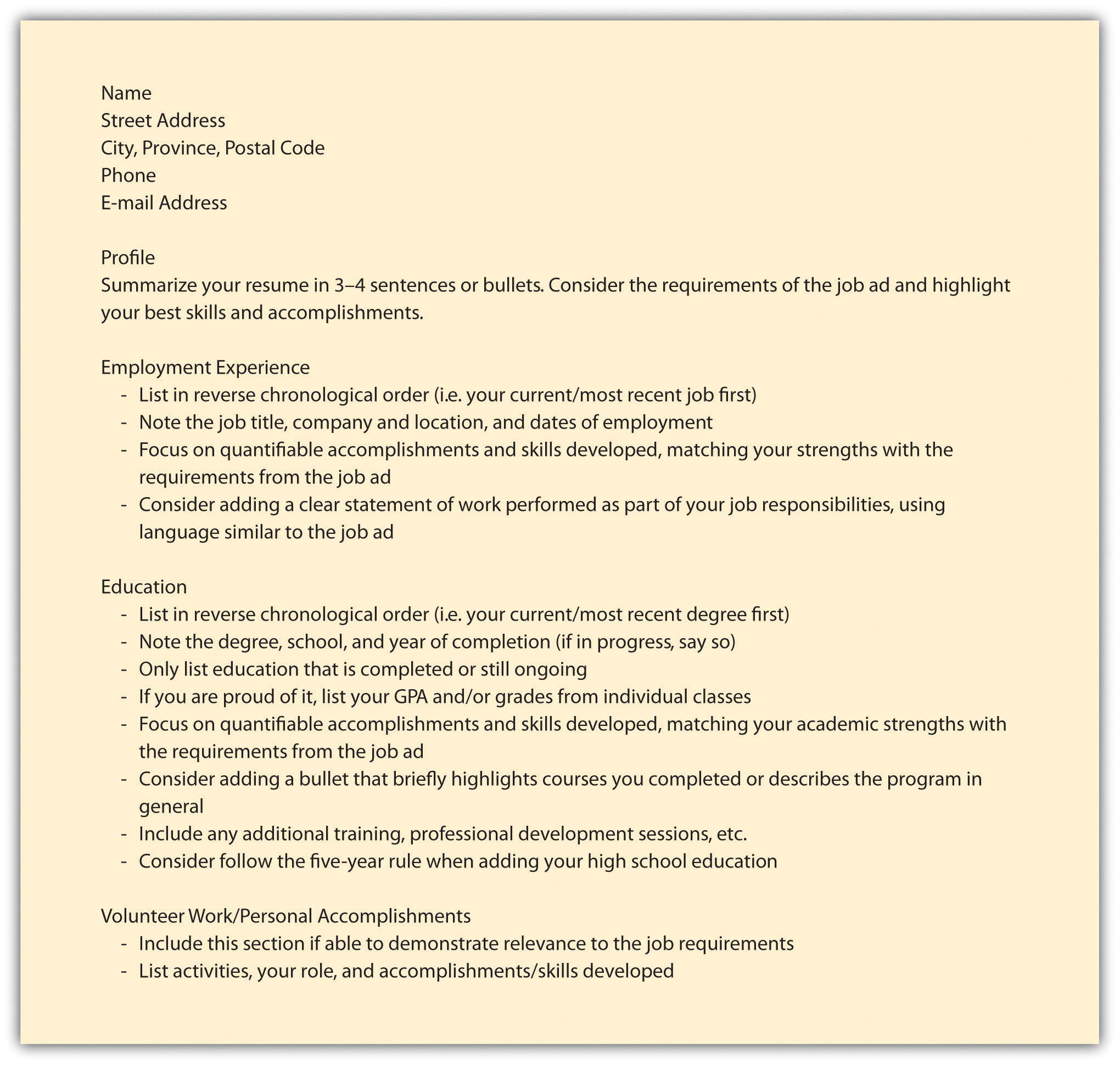 Permalink to Sample Cover Letter For Resume