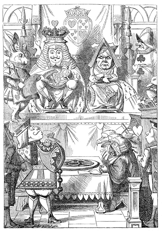 analyzing the appeal of lewis carrolls alice in wonderland Although alice's adventures in wonderland and the phantom tollbooth  and  dismisses conceptual meaning and appeal, is all too easily engendered by the.