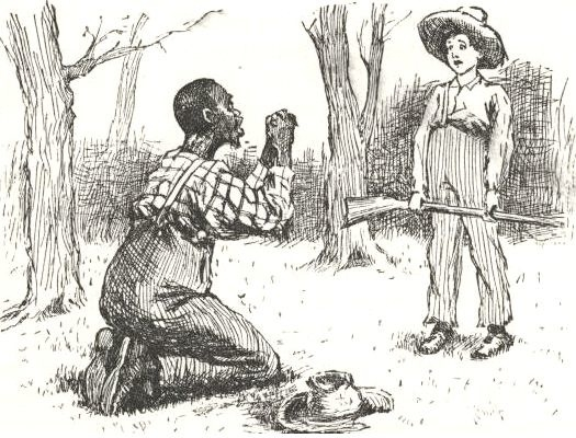 the racist side of huckleberry finn by mark twain Author samuel clemens, known to the world as mark twain, is shown in this   others say the incident happened on the california side of the lake  you can  call 'huckleberry finn' a racist book, he added, 'but you can also.