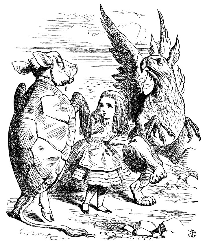 literary analysis of the novel alice in wonderland by lewis carroll Comparing lewis carroll's wonderland and tim burton's  linguistic, literary,  the alice in wonderland of lewis carroll and that of tim burton seem to come.