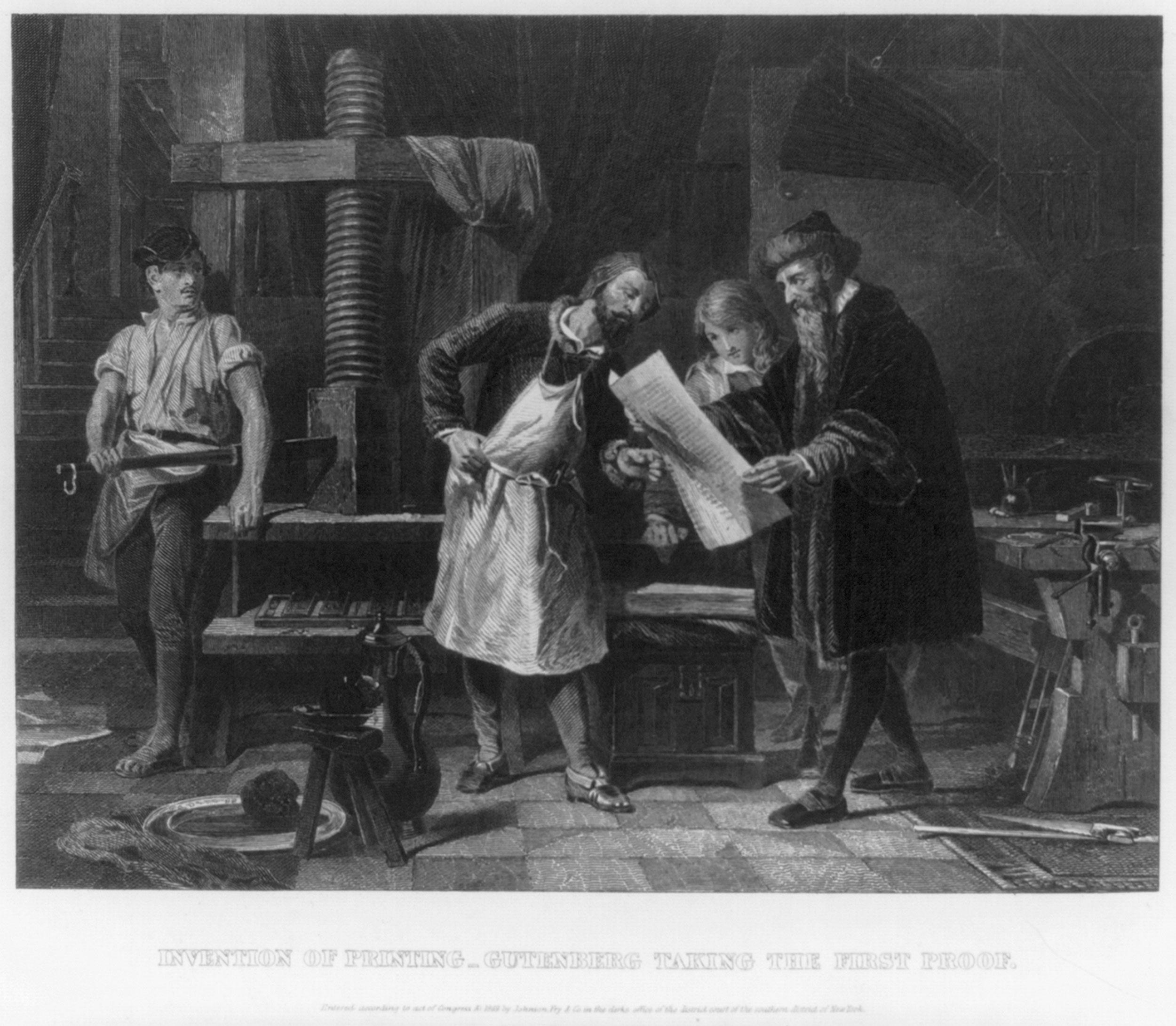 johannes gutenberg education