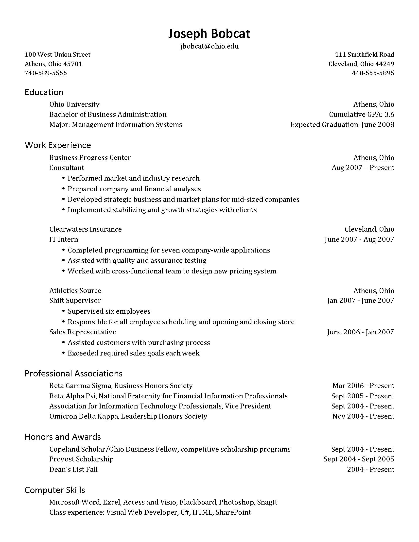 resume Resume Availability Section cover letters resumes interviews