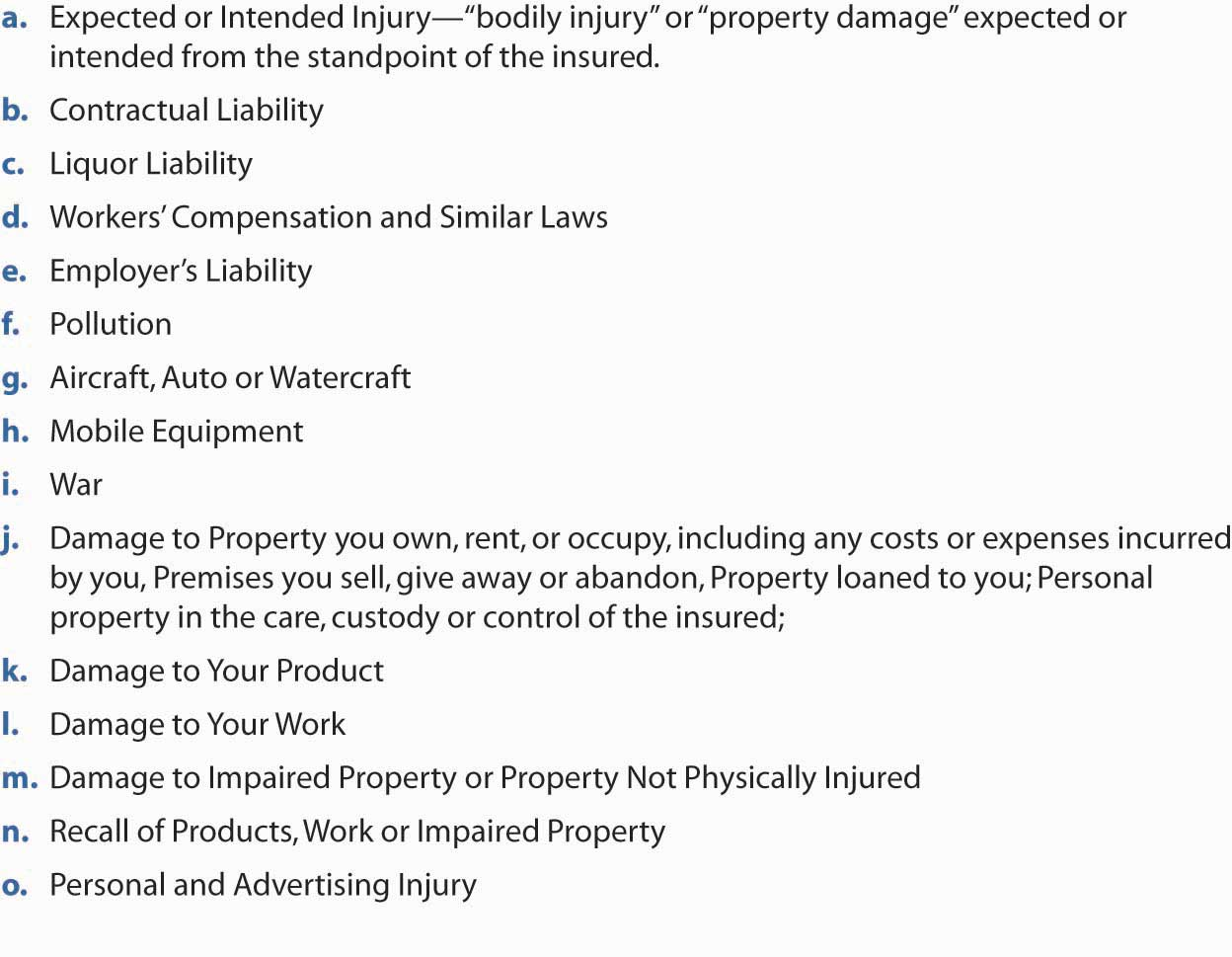 Homeowners Personal Property Exclusions Farm Bureau Guns