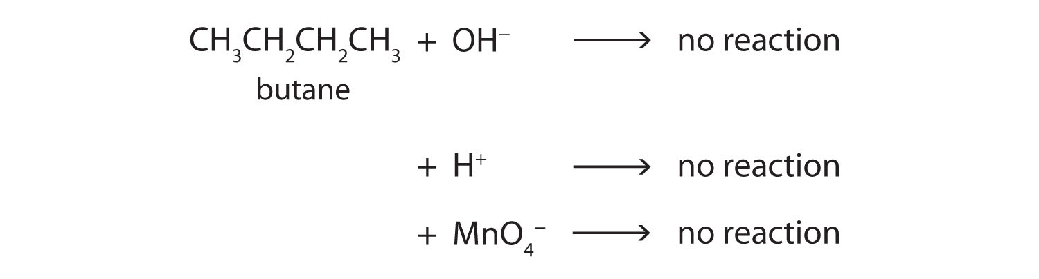 the reactions and properties or butane Maleic anhydride (man) process technology benzene and n-butane there are a number of side reactions other than those highlighted.