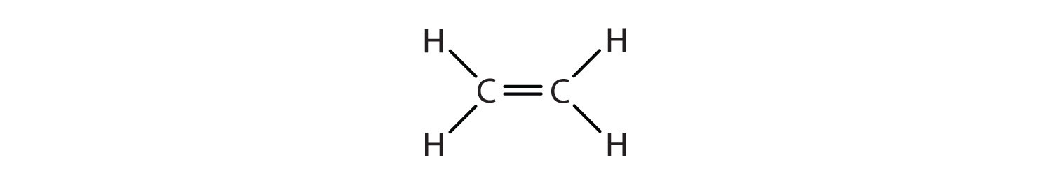 alkenes structures and names