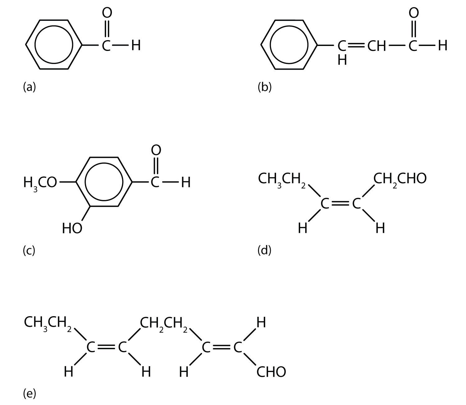 Chemical Properties Of Benzaldehyde