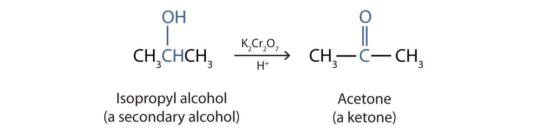 Αποτέλεσμα εικόνας για oxidation of secondary alcohols