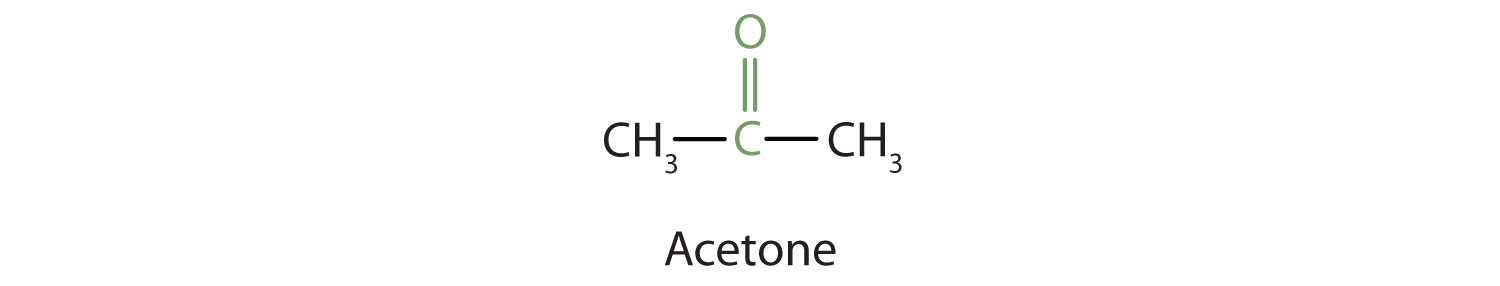 Aldehydes and Ketones: Structure and Names