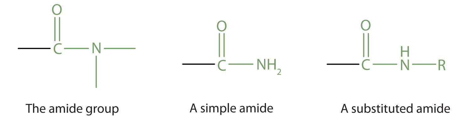 Amides Structures And Names