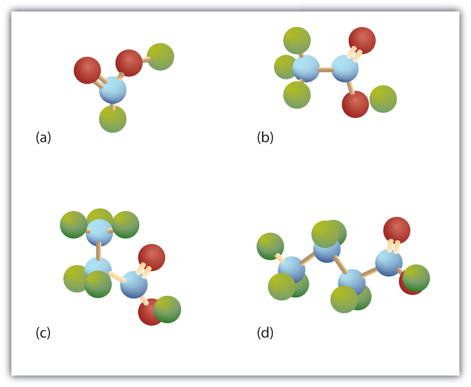 Carboxylic Acids Structures And Names Oxygen Atom Diagram Note