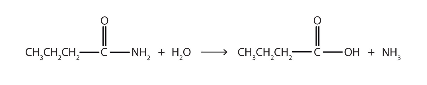 Chemical Properties Of Amides Hydrolysis