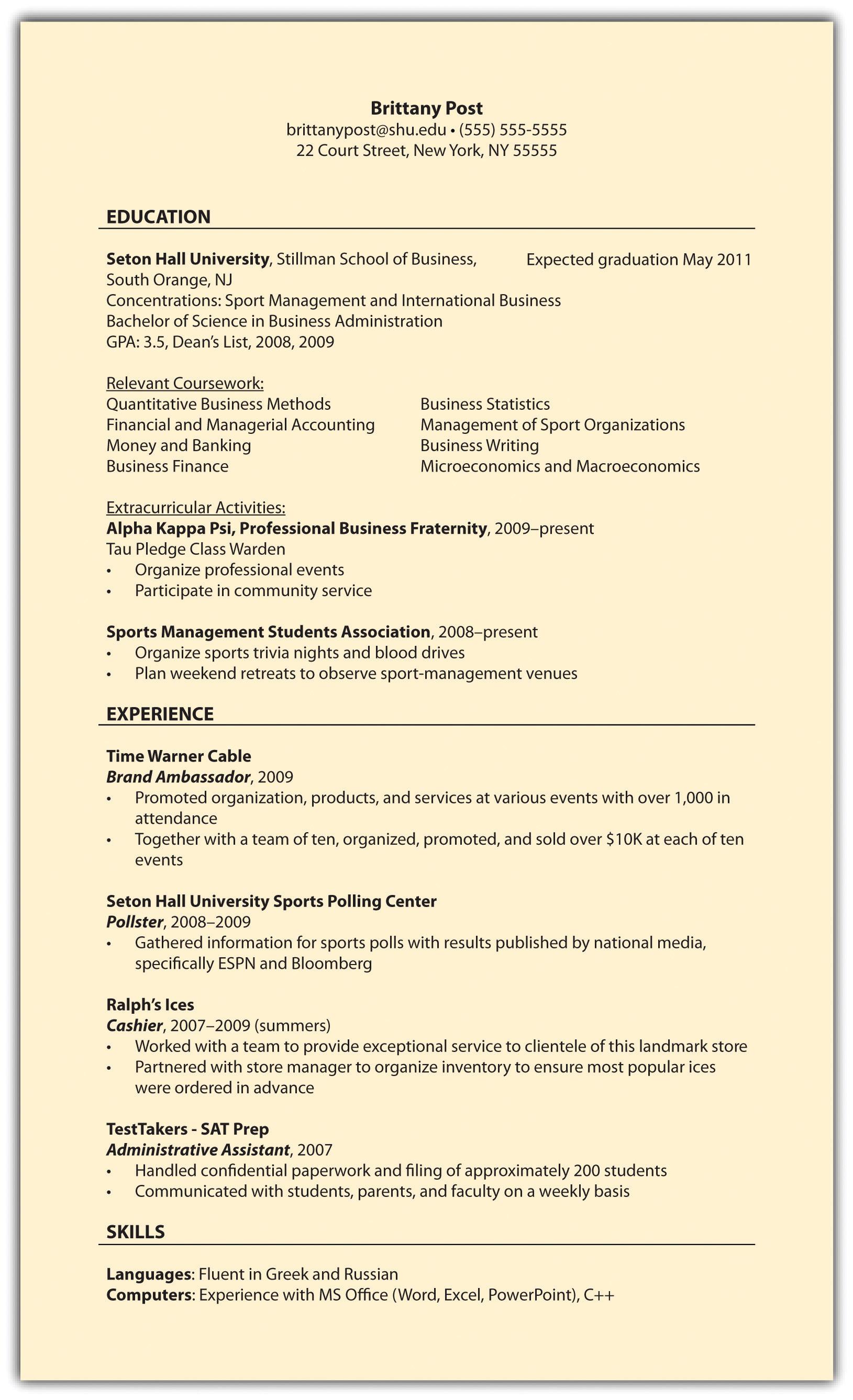 emt basic resumes