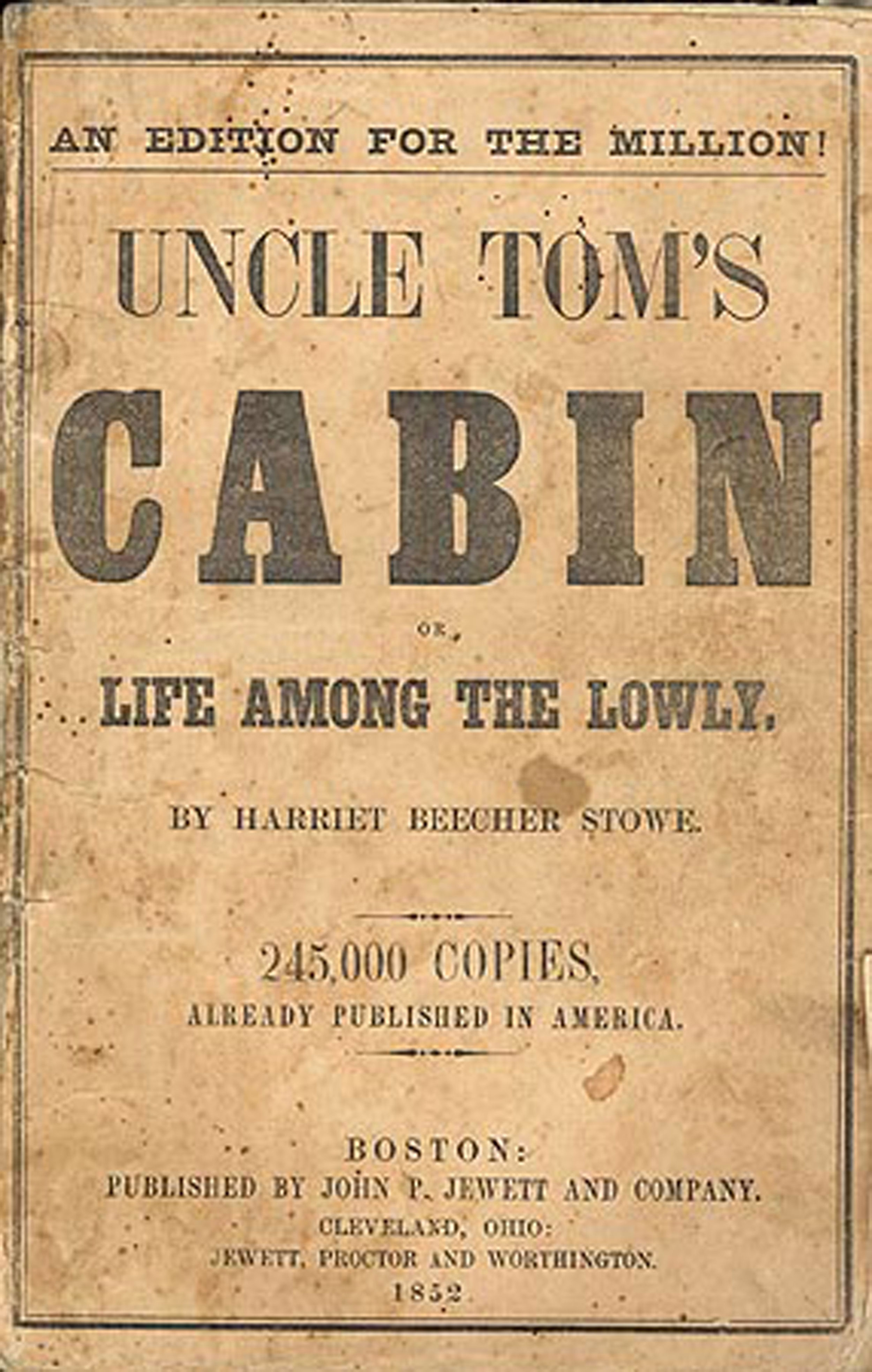 Books books in the 1800show uncle toms cabin helped start a war fandeluxe Image collections