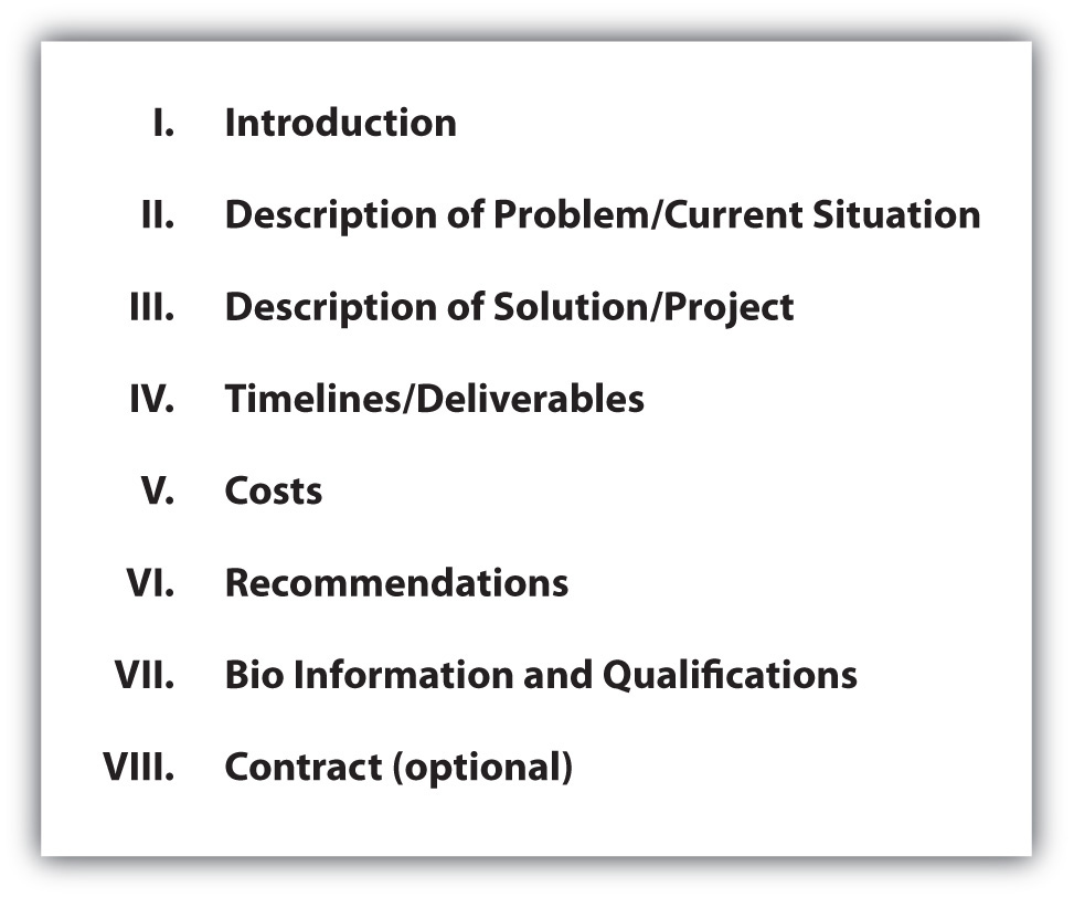 Project proposal outline template friedricerecipe Gallery