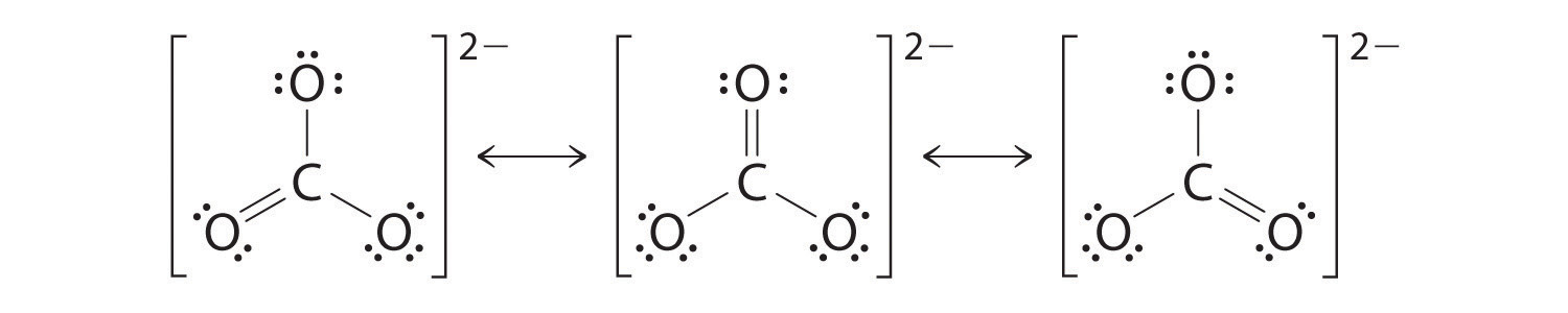 Carbonate Ion Lewis Structure