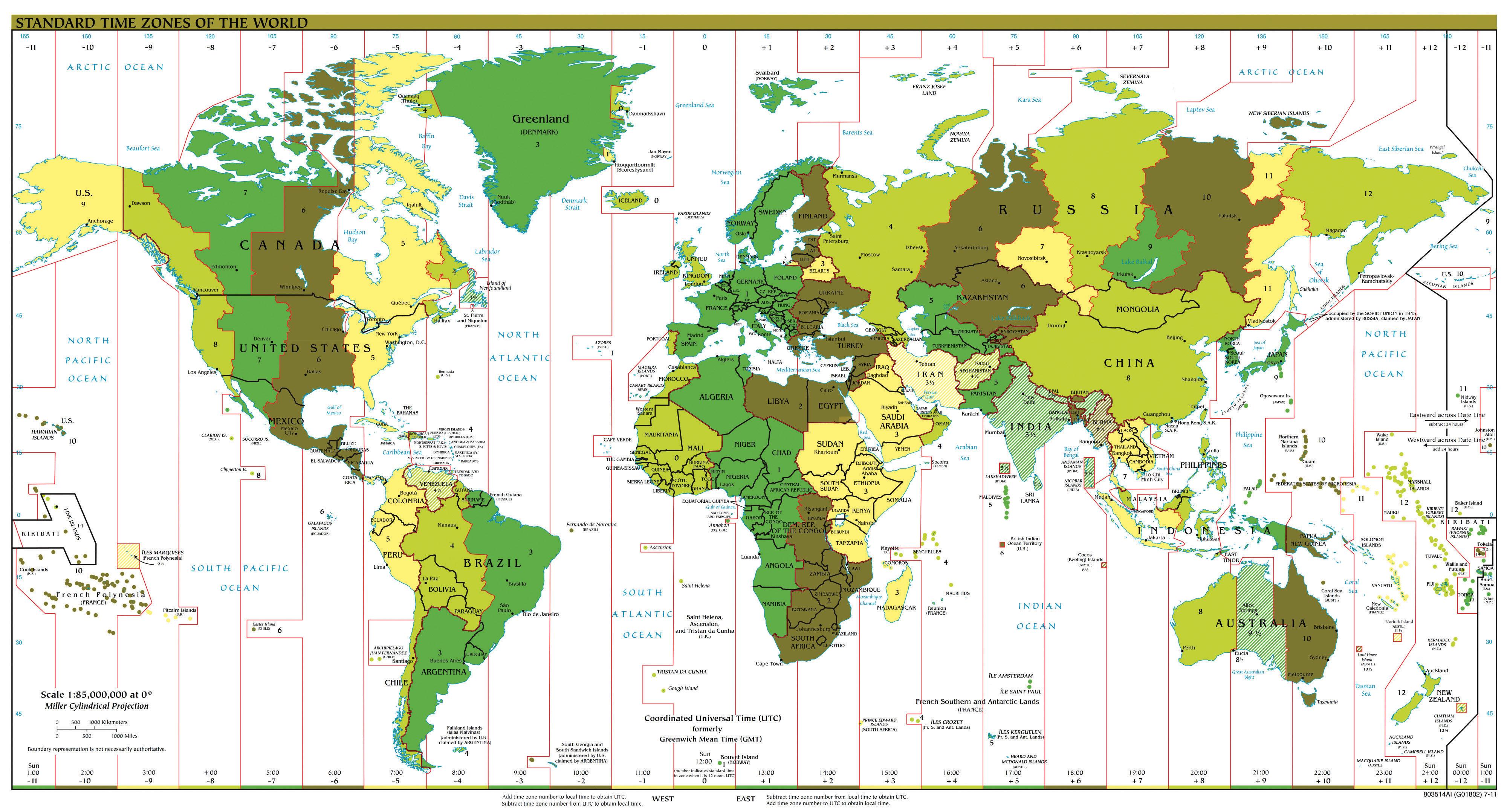 Teaching equator and prime meridian