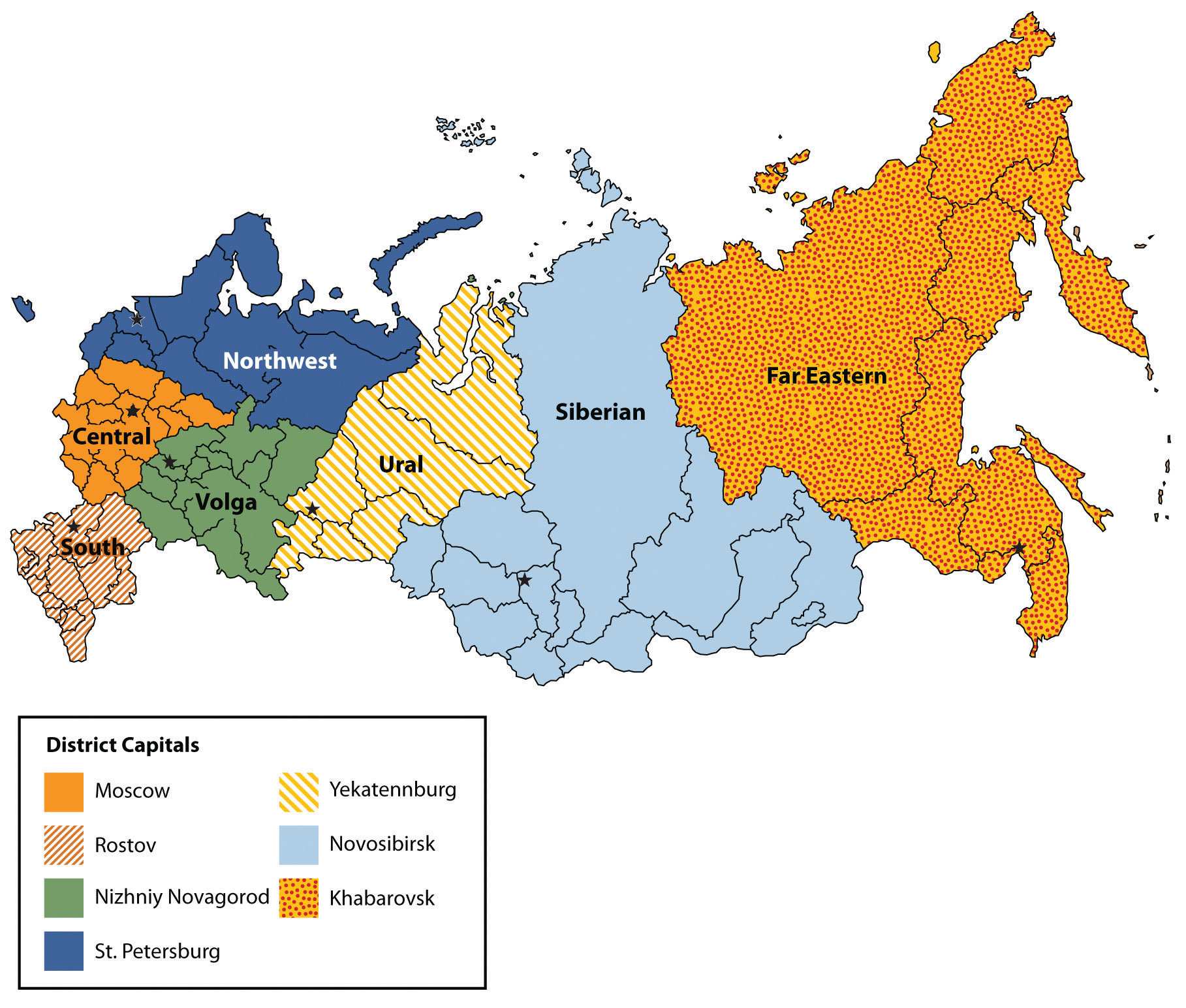 Districts And Regions Of Russian 117