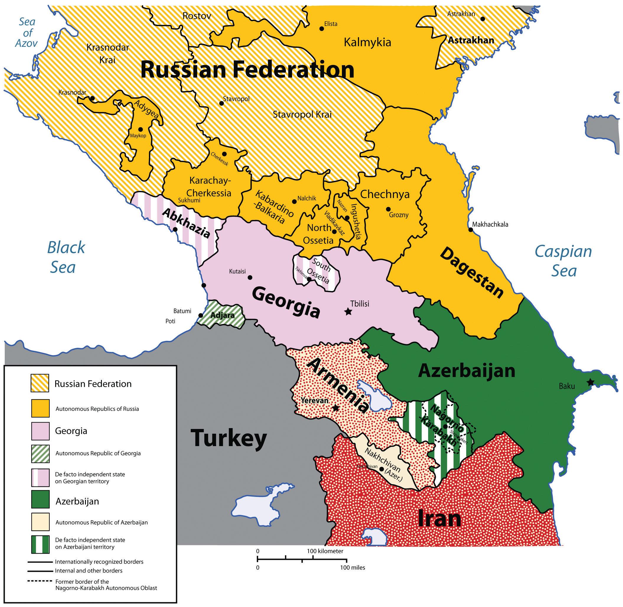 Regions of Russia