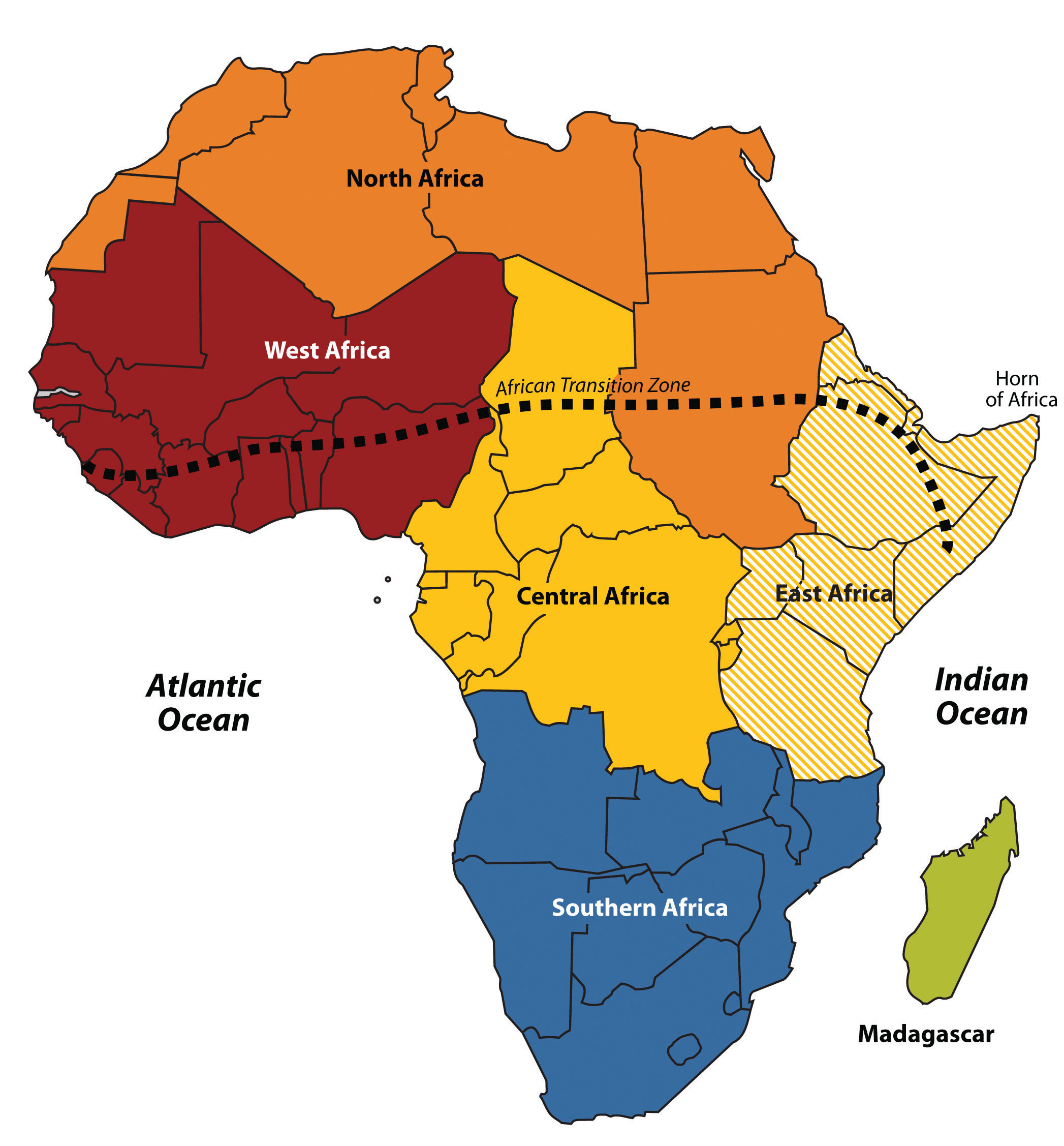 Central Africa Major Natural Resources