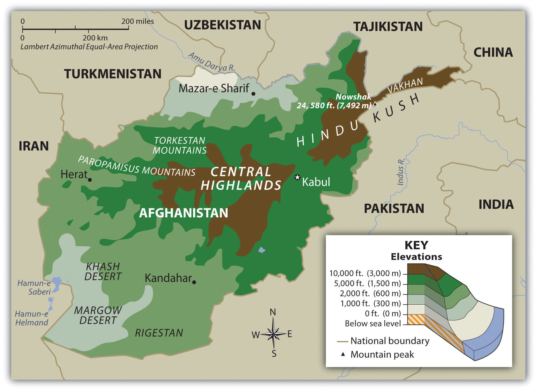 Central Asia and Afghanistan