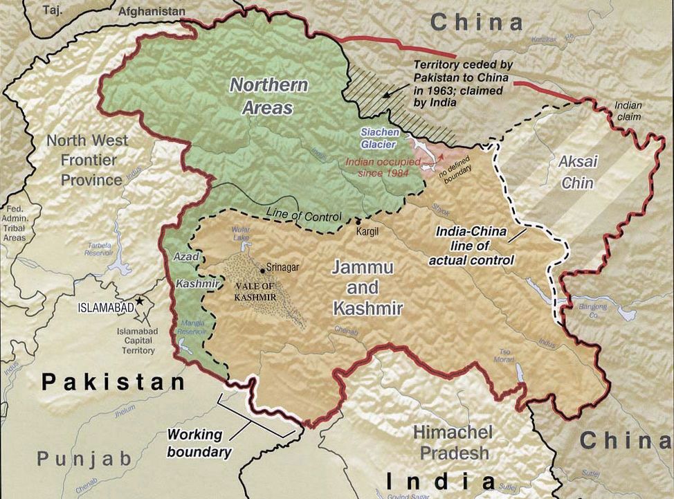 Map Of India Hindu Kush Mountains Traffic Club
